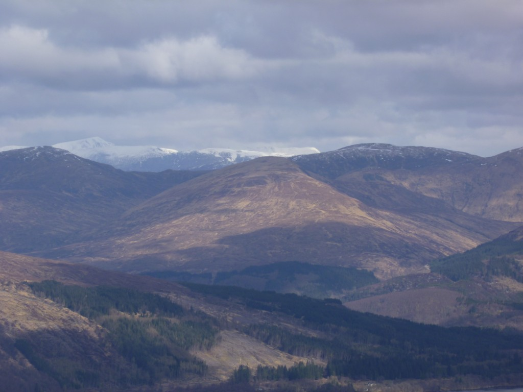 view from Nevis Range