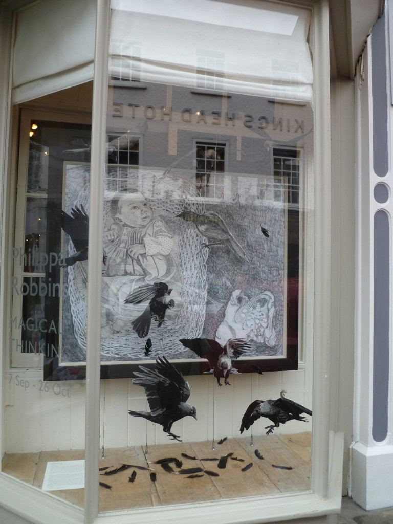 Art Shop exhibition window